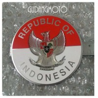 Vespa Sticker Metal Burung Garuda Congo Vbb 60s [RCS10]