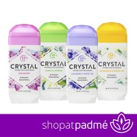 Crystal Body Deodorant, Invisible Solid Deodorant 70gr stick