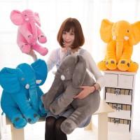 Bantal Lembut Tidur Mainan Gajah Bantal Boneka Binatang Anak Kecil