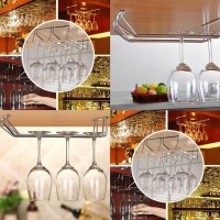 Wine Cup Glass Holder Hanging Drinking Glasses Stemware Rack Under