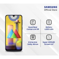 SAMSUNG Galaxy M31 RAM 6GB 128GB - GARANSI RESMI SEIN