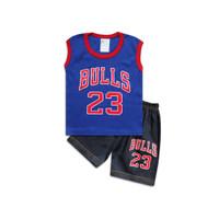 Skabe Baju Anak Laki Laki Bulls 23 Jeans Usia 6-12 Bulan 3289