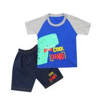 Skabe Baju Anak Laki Laki Cool Dino Setelan Jeans Usia 6-12 Bulan 3299