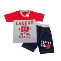 Wakakids Baju Anak Laki Laki Legend Setelan Jeans Usia 1-4 Tahun 2652