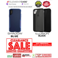 iPhone X / XS Element Case SHADOW BLUE - ILLUSION BLACK (CLEARANCE)