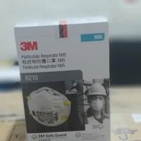 Masker 3M n95 8210 Original lebih awet dari sensi