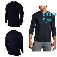 Kaos Polos Nike Legend DRI-FIT LS Mens T-shirt 100% Original