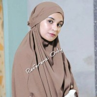 Jilbab syari / Hijab khimar Arabian Shireen / French khimar arabian