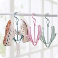 Hanger Sepatu Sandal / Gantungan Sepatu Sandal / Shoe Hanger jemuran