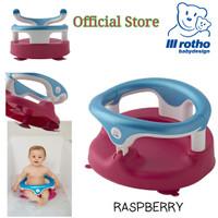 ROTHO BABY BATH SEAT - RASPBERRY WHITE