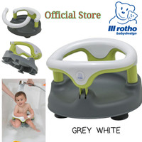 ROTHO BABY BATH SEAT - GREY WHITE