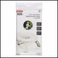 OXO TOT 2-in-1 Go Potty Replacement Bags / REFILL – 10 packs