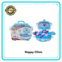 Mainan Dokter Dokteran Happy Clinic / Kado Mainan Anak Dokter