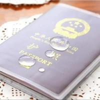 Plastik Sampul Plastik Passport Cover Paspor Transparan