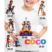 Kaos Baju tshirt anak Custom Coco