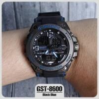 FREE BOX&BATERAI JAM TANGAN RUBBER PRIA CASIO G-SHOCK GST-8600 G-8600