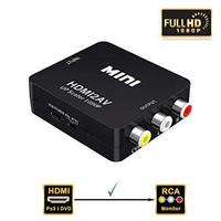 Konverter Adapter HDMI TO AV / ( hdmi to rca cable ) - Hitam