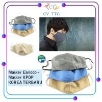 Masker Earloop - Masker Kpop Korea Anti Virus, Anti Polusi Terbaru