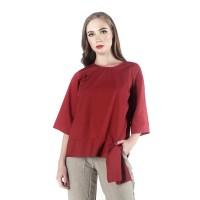 Blouse Wanita / Joanne Teracota Shirt 23394T5TC - Bodytalk