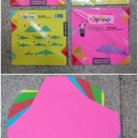 Kertas Origami 16 cm x 16cm/harga perset/isi 25 lembar