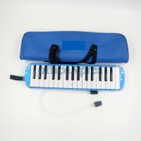 Pianika Alat Musik Tiup / Pianika Melodika Softcase - Biru
