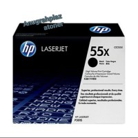 TONER PRINTER HP LASERJET 55X BLACK [CE255X] ORIGINAL 100%