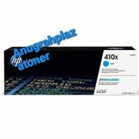 TONER PRINTER HP LASERJET 410X CYAN [CF411X] ORIGINAL 100%