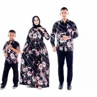 batik couple keluarga set anak cowok baju batik sarimbit