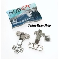 Engsel Sendok HUBEN HT Model Lurus (1 Set 2 pcs)