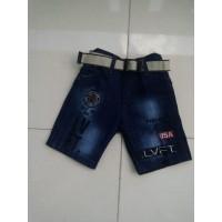 Celana Pendek Jeans Anak Anak 8 - 9 - 10 Tahun Model Dibawah Lutut