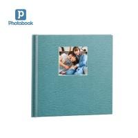 "Album Foto Photobook 8""x8"" 40 Hal Hardcover, Debossed Perfect Binding"