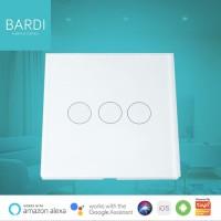 Bardi Smart WiFi Touch Wallswitch - EU 3 Gang