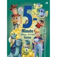 buku Disney 5 MINUTE PIXAR STORIES