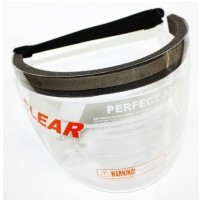 Topi pelindung Wajah Visor Face Topi APD Kaca Safety