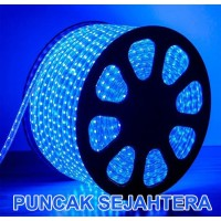 Lampu Strip / Rope LED 5050 Warna Biru / Blue 5050 IP44