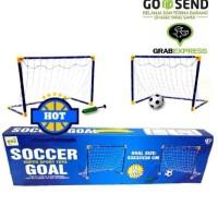 Mainan Bola Gawang - Sepakbola Set Untuk Anak - Olahraga