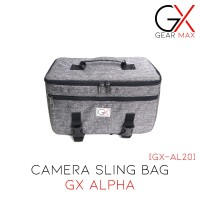 Tas Kamera Selempang Sling Camera Bag DSLR Mirrorless Gear Max GX-AL20