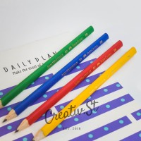 Pensil Anak Faber Castell Junior Grip Black Pencil 72