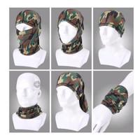 Masker Buff Army Camo | Bandana Balaclava Serbaguna