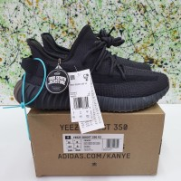 SEPATU ADIDAS YEZZY BOOST 350 V2 CINDER UNATHORIZED AUTHENTIC - Hitam, 40