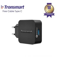 Tronsmart WC1T Quick Charge 3.0 Wall Charger EU Plug + Kabel Type C