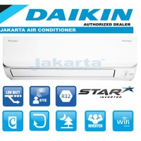 AC DAIKIN STAR INVERTER 1,5 PK - FTKC 35 ( Thailand )