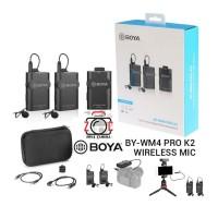 Boya BY-WM4 PRO K2 Wireless Microphone WM4 Pro Clip-on Lavalier WM4K2