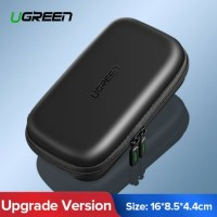 Ugreen Travel Organizer Storage Bag HDD SSD EVA Hard Case - Small Size