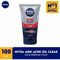 Nivea Men Acne Defense Foam 100ml