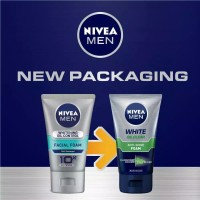 Nivea Men White Oil Clear Anti Shine Foam 50ml