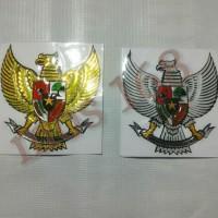 EMBLEM/LOGO/emblem/logo Sticker Stiker Timbul 3D Lambang Burung Garuda