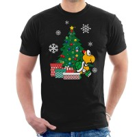 Kaos Koopa Troopa Around The Christmas Tree Mario T-shirt