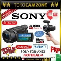 New !! Sony FDRAX53 AX53 4K Ultra HD Handycam Camcorder