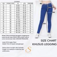 Legging Jeans Jumbo Big Size Premium SYAKBOS Jegging Clara Chino Soft